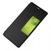 Δερμάτινη Θήκη Βιβλίο Smart Cover με Βάση Στήριξης για Huawei P10 - Μαύρο