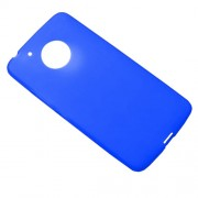 Matte Skin Soft TPU Case Phone Cover for Motorola Moto G5 - Blue