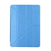 Δερμάτινη Θήκη Βιβλίο με Βάση Στήριξης (Origami) για iPad 9.7 (2017) / 9.7 (2018) - Σκούρο Μπλε