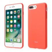 ROAR KOREA Θήκη Σιλικόνης TPU Ματ για iPhone 7 Plus / 8 Plus - Πορτοκαλί