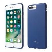 ROAR KOREA Θήκη Σιλικόνης TPU Ματ για iPhone 7 Plus / 8 Plus - Σκούρο Μπλε