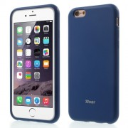 ROAR KOREA Θήκη Σιλικόνης TPU Ματ για iPhone 6s / 6 - Σκούρο Μπλε