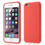 ROAR KOREA Θήκη Σιλικόνης TPU Ματ για iPhone 6s Plus / 6 Plus - Πορτοκαλί