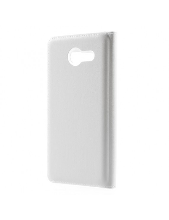 509a25be55 Δερμάτινη Θήκη Πορτοφόλι Smart Cover για Samsung Galaxy J5 (2017) - Λευκό  (50009698) by stoucky.gr