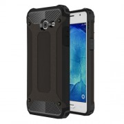 Armor Guard Mobile Case (Plastic + TPU) for Samsung Galaxy J5 (2017) - Black
