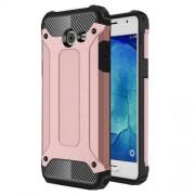 Tough Armor Υβριδική Θήκη Σιλικόνης TPU σε Συνδυαμό με Πλαστικό για Samsung Galaxy J5 (2017) - Ροζέ Χρυσαφί