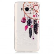 Transparent IMD TPU Back Cover for Samsung Galaxy J5 (2016) - Dream Catcher