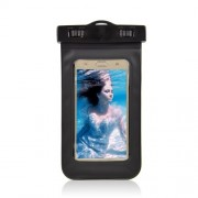 Waterproof Diving Bag Case for Samsung iPhone Sony, Size: 20.5 x 11.5 x 1.5cm - Black