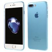 Ultra Thin TPU Transparent Case for iPhone 7 Plus / 8 Plus - Blue