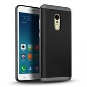 IPAKY Υβριδική Θήκη Συδυασμού Σιλικόνης TPU και Πλαστικού για Xiaomi Redmi Note 4 - Γκρι/Μαύρο