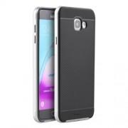 IPAKY Υβριδική Θήκη Συδυασμού Σιλικόνης TPU και Πλαστικού για Samsung Galaxy A5 SM-A510F (2016) - Ασημί/Μαύρο