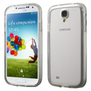 Soft TPU Bumper Frame for Samsung Galaxy S4 I9505 I9502 I9500 - Transparent