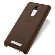 LENUO Music Case II for Xiaomi Redmi Note 3 Pro Special Edition Leather Skin Hard Back Phone Cover - Brown