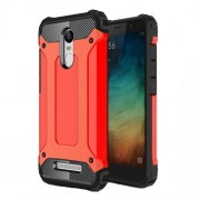 Armor Guard PC + TPU Hybrid Mobile Case for Xiaomi Redmi Note 3/Note 3 Pro - Red