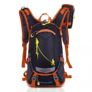 18L Cycling Backpack Waterproof Shoulder Bag - Orange