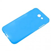 Double-sided Matte TPU Shell Cover Case for Samsung Galaxy J3 Emerge/J3 Prime/J3 (2017) - Blue