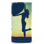 Wallet Leather Pouch Case for Samsung Note 4 / Sony T3 C3, Size: 155 x 80mm - Beauty in the Sunset
