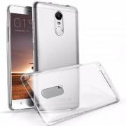Θήκη Σιλικόνης TPU με Διάφανη Σκληρή Πλάτη για Xiaomi Redmi 4 - Διάφανο