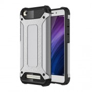 Armor Guard Hybrid Protective Phone Case (Plastic + TPU) for Xiaomi Redmi 4a - Grey