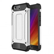 Armor Guard Plastic + TPU Hybrid Shell for Xiaomi Mi 5s - Silver