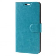 For Lenovo Vibe S1 Lite Crazy Horse Leather Case Built-in Steel Sheet - Blue