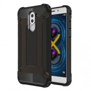 Armor Guard PC + TPU Hybrid Case for Huawei Honor 6x (2017) - Black