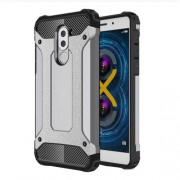 Armor Guard PC + TPU Hybrid Phone Shell for Huawei Honor 6x (2017) - Grey