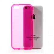Θήκη Σιλικόνης TPU Λεπτή Ημιδιάφανη για iPhone 5C - Φούξια