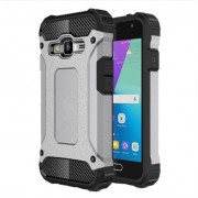 Armor Guard Plastic + TPU Combo Case for Samsung Galaxy J1 mini prime - Grey