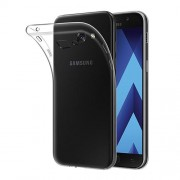 Super Thin Flexible TPU Back Case for Samsung Galaxy A3 (2017) - Transparent
