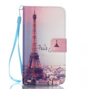 Wallet Leather Stand Case for Samsung Galaxy A5 SM-A510F (2016) - Paris Eiffel Tower