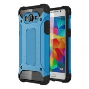 Armor Guard Plastic + TPU Hybrid Case for Samsung Galaxy Grand Prime SM-G530 - Baby Blue