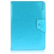 ENKAY ENK-7040 Universal Crazy Horse Leather Shell for Tablet PCs with Stand, Size: 20-23.5 x 12-15cm - Baby Blue