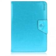 ENKAY ENK-7040 Universal Δερμάτινη Θήκη Βιβλίο με Βάση Στήριξης για Tablets 8 με 8,5 ίντσες, Διαστάσεις 20-23.5 x 12-15cm - Γαλάζιο