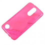 For LG Aristo MS210 / K8 2017 M200N S-Shape TPU Shell Case Protector - Rose