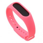 Soft TPU Wristband Strap for Xiaomi Mi Band 2 - Watermelon Red