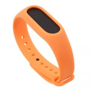 Flexible TPU Wristband Bracelet for Xiaomi Mi Band 2 - Orange