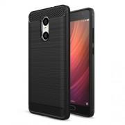 Θήκη Σιλικόνης TPU Carbon Fiber Brushed για Xiaomi Redmi Pro - Μαύρο