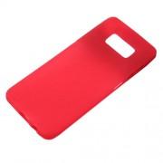 Θήκη Σιλικόνης TPU Ματ για Samsung Galaxy S8 - Κόκκινο