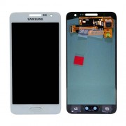 Original Samsung LCD and Digitizer Touch Screen for Samsung Galaxy A3 SM-A300F - White (GH97-16747C)