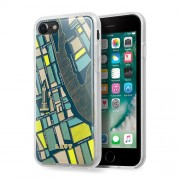 LAUT Nomad Θήκη Σιλικόνης Υψηλής Ποιότητας για iPhone 8 / 7 - Μότιβο Νέα Υόρκη