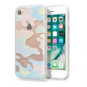 LAUT Pop-Camo Θήκη Σιλικόνης Υψηλής Ποιότητας για iPhone 7 / 6 / 6s - Μότιβο Pastel