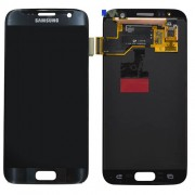 Original Samsung LCD and Digitizer Touch Screen for Samsung Galaxy S7 G930 - Black (GH97-18523A)
