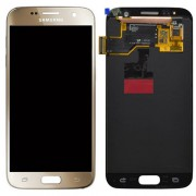 Original Samsung LCD and Digitizer Touch Screen for Samsung Galaxy S7 G930 - Gold (GH97-18523C)