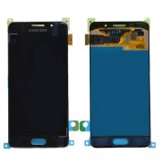 Original Samsung LCD + Digitizer Touch Screen for Samsung Galaxy Α3 (2016) SM-Α310F - Black (GH97-18249B)