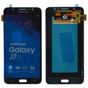 Original Samsung LCD and Digitizer Touch Screen for Samsung Galaxy J7 (2016) SM-J710 - Black (GH97-18855B)