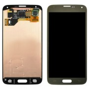 Original Samsung LCD + Digitizer Touch Screen for Samsung Galaxy S5 SM-G900F SM-G901F - Gold (GH97-15959D)