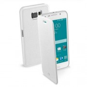 Cellularline Essential Case Galaxy S6 Book - White (BOOKESSENGALS6W)