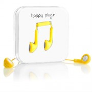 Happy Plugs Handsfree 3.5mm Yellow (7706)