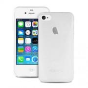 Puro Λεπτή Θήκη για iPhone 4s 4 - Ημιδιάφανο Λευκό (IPC403TR)
